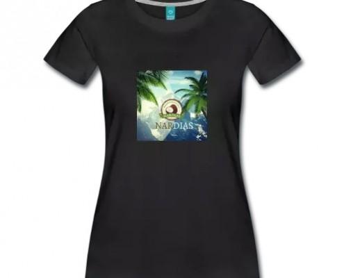 nardias shirt kokosnuss palme berge